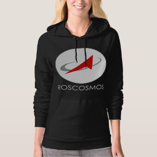 Russian Federal Space Agency: Roscosmos Роскосмос Hoodie
