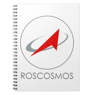 Russian Federal Space Agency: Roscosmos Роскосмос Spiral Notebooks