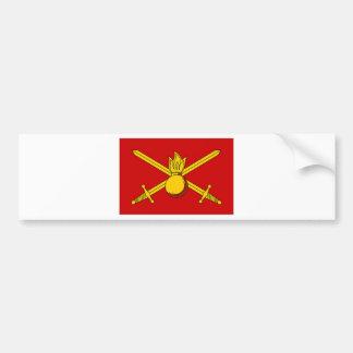 Russian Federation Army Flag Bumper Sticker