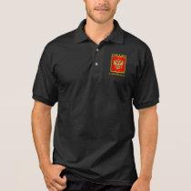 Russian Federation COA Polo Shirt