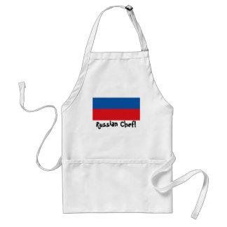 Russian Federation flag Chef apron
