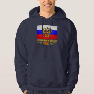Russian Federation Flag & Emblem Hoodie