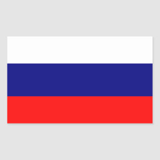 """""""Russian Federation Flag"""" Stickers"""