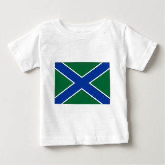 Russian Federation Frontier Guard Ensign Baby T-Shirt