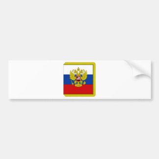 Russian Federation President Flag Bumper Sticker
