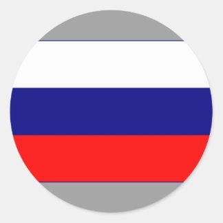 Russian Federation Round Sticker