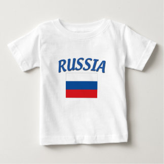 Russian Flag Baby T-Shirt
