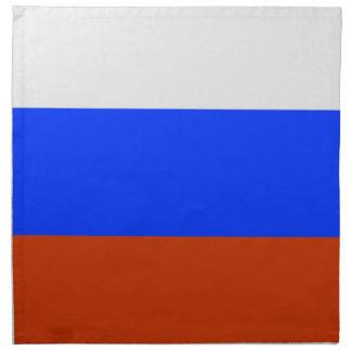 Russian Flag Cloth Napkin