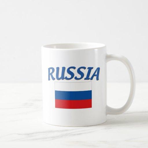 Russian Flag Coffee Mug