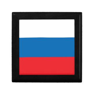 Russian Flag Trinket Box