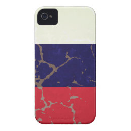 Russian Flag iPhone 4 Case-Mate Case