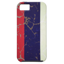Russian Flag iPhone SE/5/5s Case