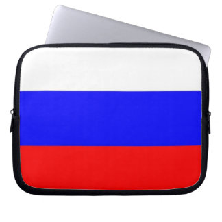 Russian Flag Laptop Sleeve
