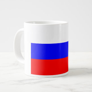 Russian Flag Large Coffee Mug