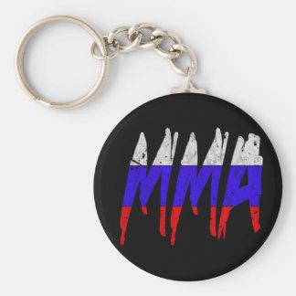 Russian Flag MMA Keychain