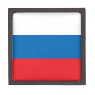 Russian Flag Premium Keepsake Boxes