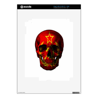Russian flag skull skin for the iPad 2
