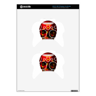 Russian flag skull xbox 360 controller decal