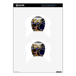 Russian flag skull xbox 360 controller skin