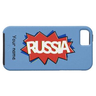 Russian flag star burst iPhone 5 cases