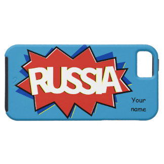 Russian flag star burst iPhone 5 covers