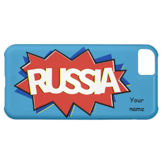 Russian flag star burst case for iPhone 5C