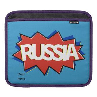 Russian flag star burst sleeve for iPads