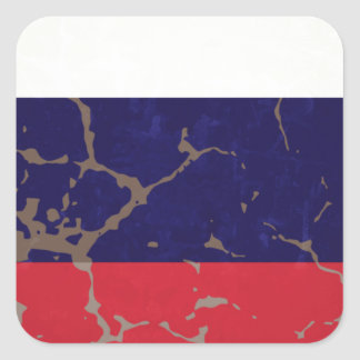 Russian Flag Sticker