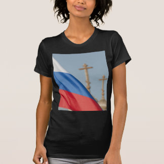 Russian flag tee shirts