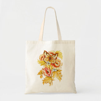 Russian Floral Budget Tote Bag