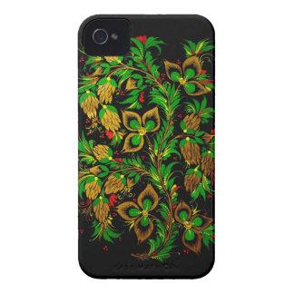 Russian folk art iPhone 4 Case-Mate Case