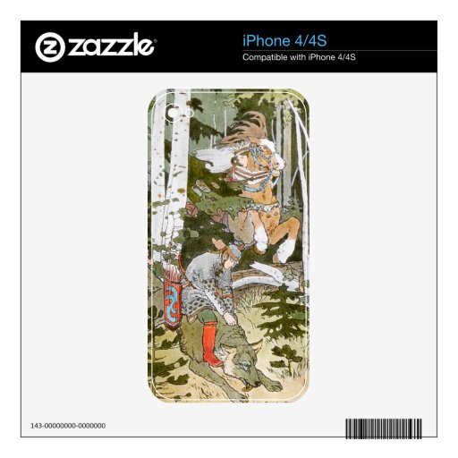 Russian Folklore iPhone Skin Skins For The iPhone 4