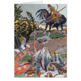 Russian Folklore Notecard