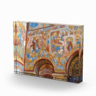 Russian frescoes acrylic award