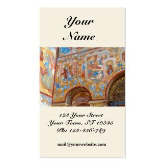 Russian frescoes Business Card