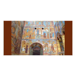 Russian frescoes card