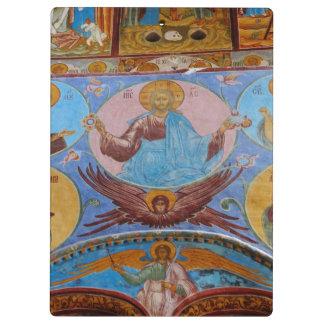 Russian frescoes clipboard