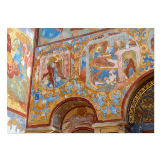 Russian frescoes large business card
