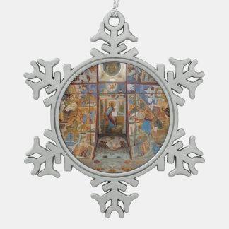 Russian frescoes ornaments