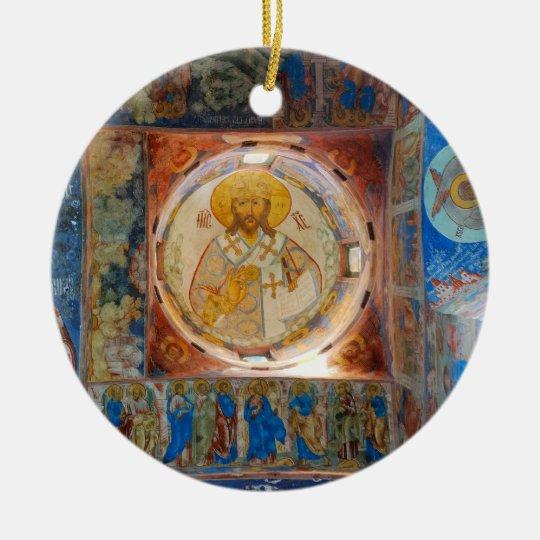 russian frescoes Ornament