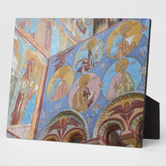 Russian frescoes plaque