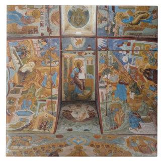 Russian frescoes tile