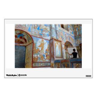 Russian frescoes wall sticker