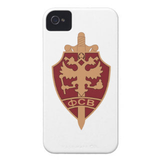 Russian FSB BADGE Federal Security Service metal E iPhone4 Case