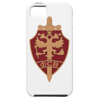 Russian FSB BADGE Federal Security Service metal E iPhone 5 Covers