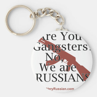 Russian Gangsters Брат 2 Key Chains