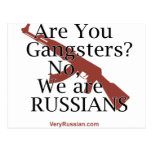Russian Gangsters Брат 2 Postcard