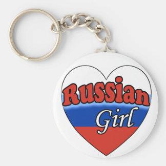 Russian Girl Keychain
