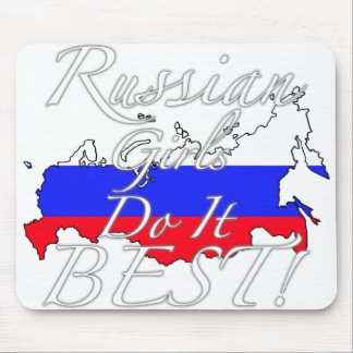 Russian Girls Do It Best! Mouse Pad