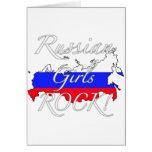 Russian Girls Rock! Card